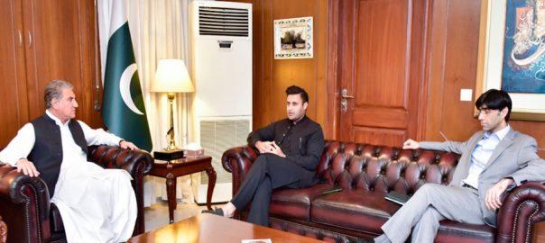 zulfi bukhari and moeed with shah mehmood