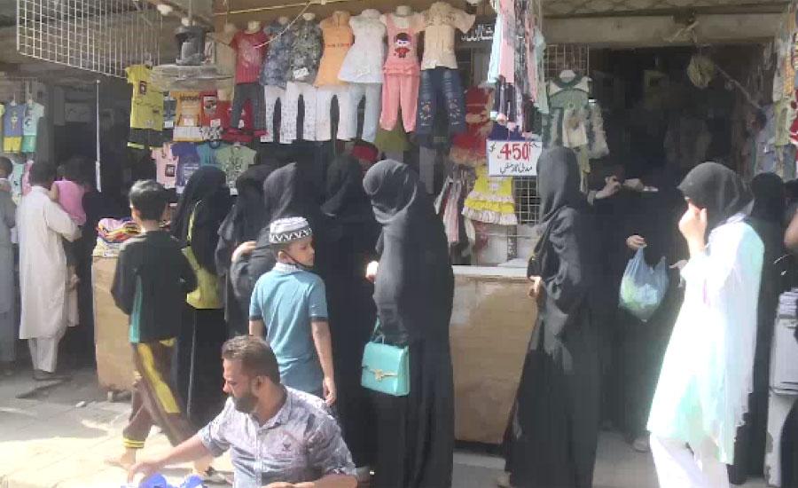 سندھ اور پنجاب میں رواں ہفتے خریداری کا آج آخری دن