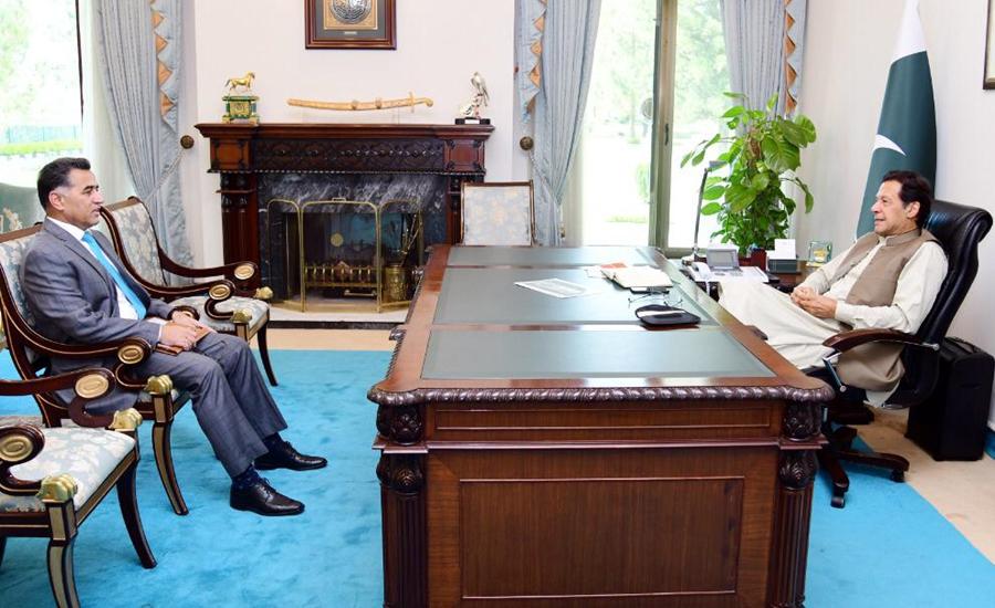وزیر اعظم سے ڈی جی آئی ایس آئی اور مشیر قومی سلامتی کی ملاقات