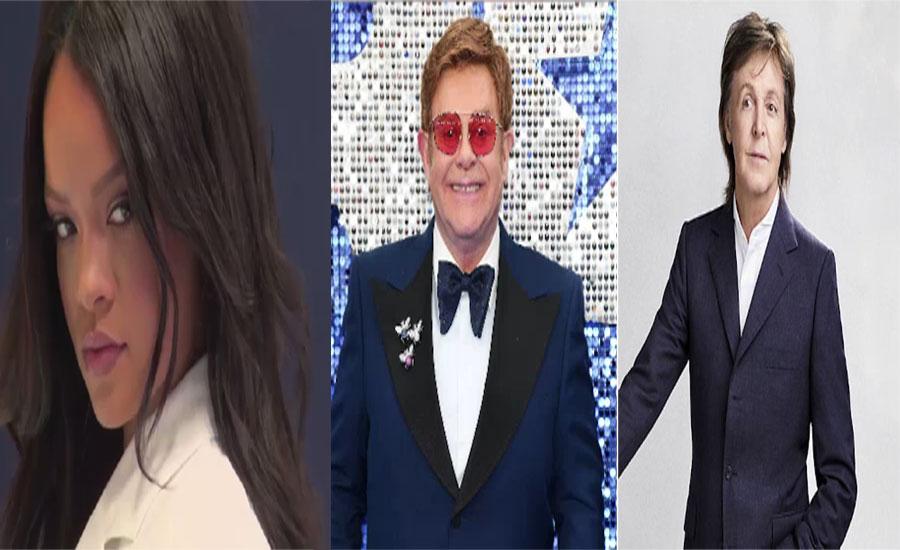 برطانیہ کے ٹاپ ٹوئنٹی امیر ترین گلوکاروں اور موسیقاروں کی فہرست جاری
