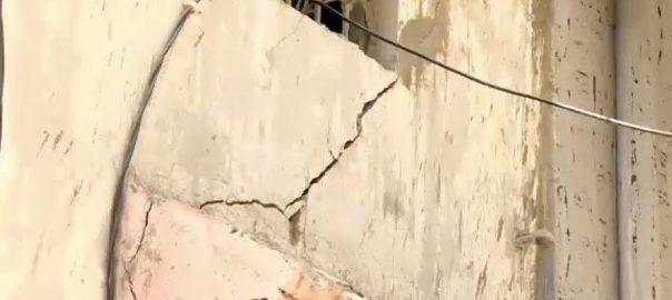 کراچی ، لیاقت آباد ، سات منزلہ ، عمارت ، ٹیڑھی