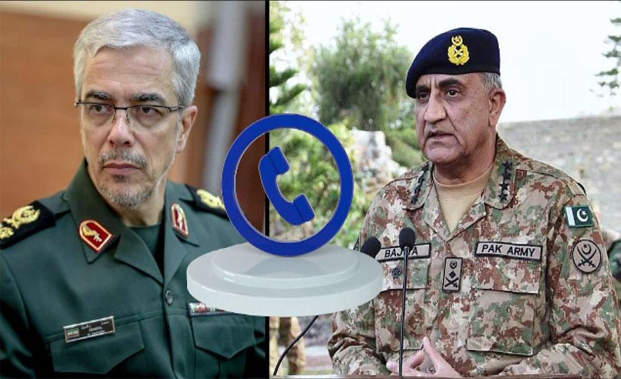 پاک ایران فوجی کمانڈرز کا سرحد کے دونوں اطراف سکیورٹی سخت کرنے پر اتفاق