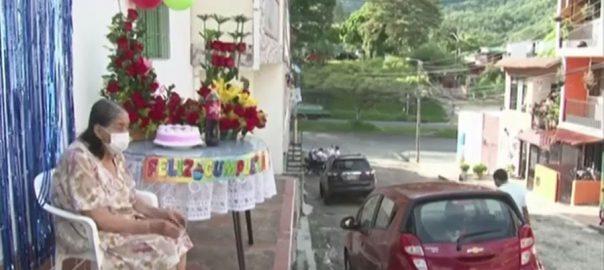 کولمبیا ، سارہ ویرون ، زندگی ، 100 سال پورے ، سالگرہ ، بگوٹا ، 92 نیوز