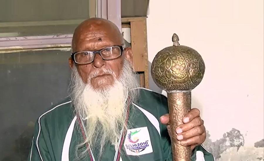 اسپورٹس بورڈ پنجاب کا پہلوان دین محمد کی خدمات کو سراہنے کا فیصلہ