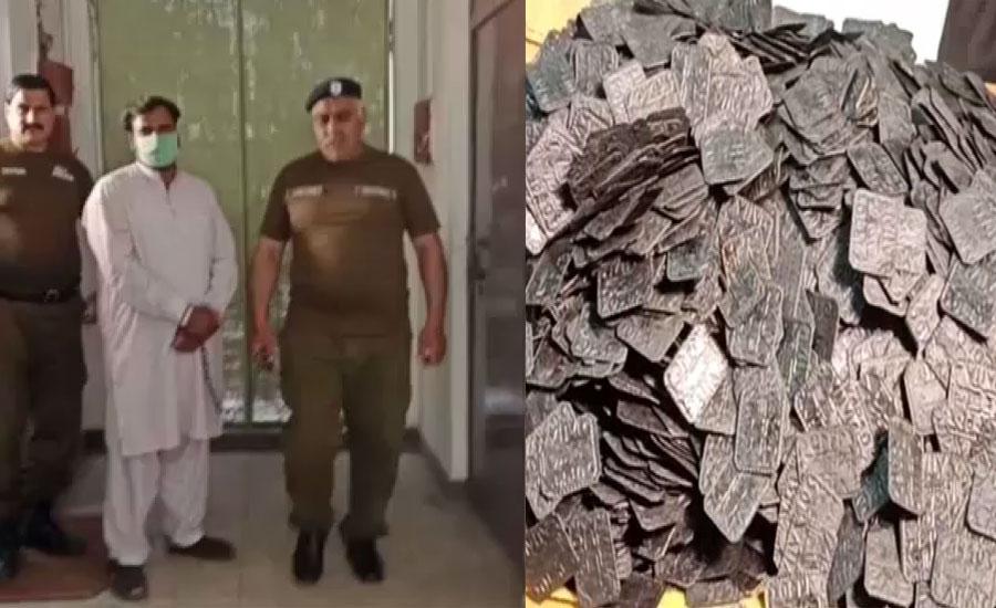 سیالکوٹ میں جعلی سونے کے سکے فروخت کرنے والے گینگ کا سرغنہ گرفتار