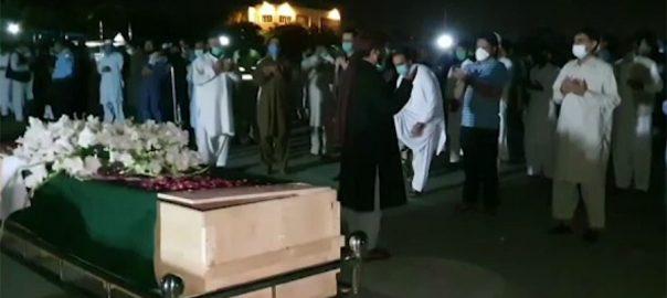 اسلام آباد ، نامعلوم ، افراد ، فائرنگ ، شہید ، پولیس ، اہلکاروں ، نمازجنازہ ، ادا