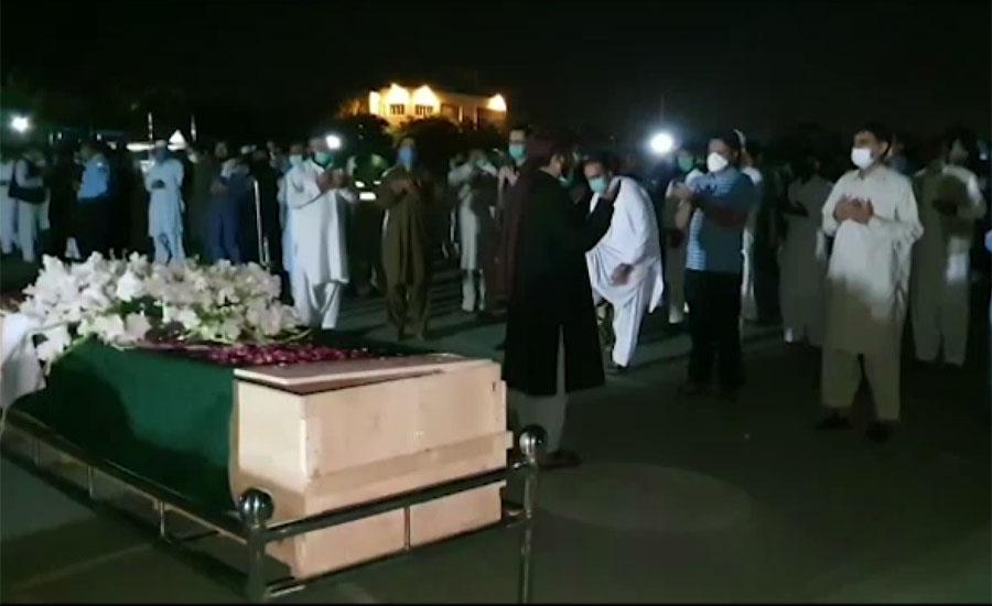 اسلام آباد میں نامعلوم افراد کی فائرنگ سے شہید دونوں پولیس اہلکاروں کی نمازجنازہ ادا