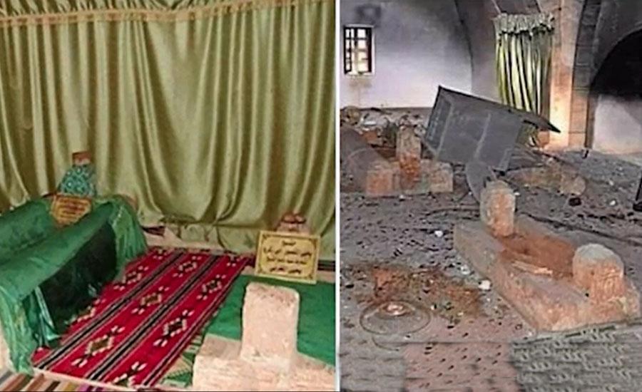 حضرت عمربن عبدالعزیزؒ کے مزار کو شہید کئے جانے پر مسلم امہ کی شدید مذمت