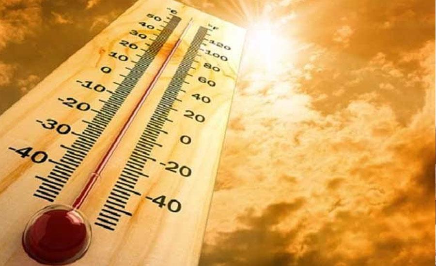 کراچی کا درجہ حرارت 41 ڈگری سینٹی گریڈ تک جانے کا امکان ، محکمہ موسمیات