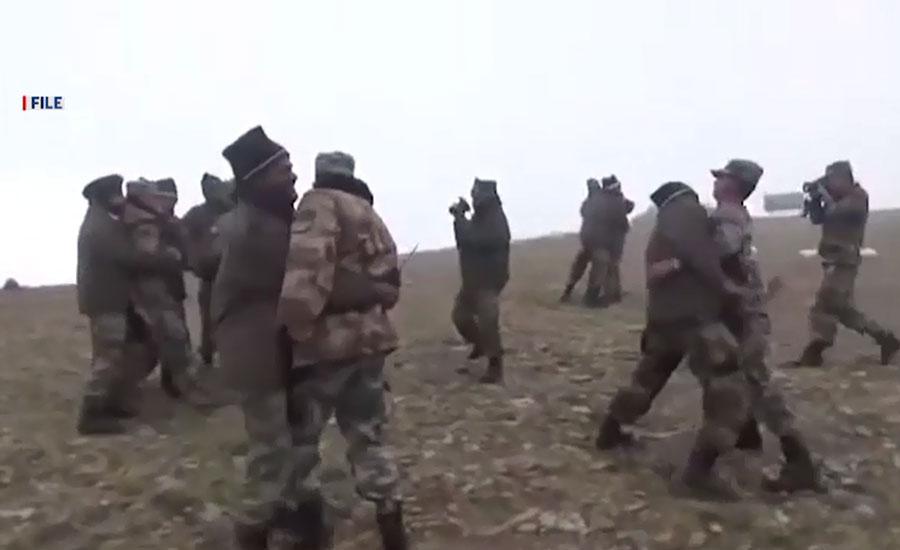 سکِم کی متنازع سرحد پر بھارتی فوج کا چینی فوجیوں پر دھاوا، 7 زخمی