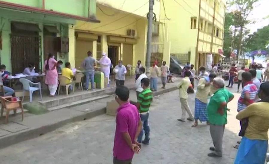 بھارت میں کورونا بے قابو، متاثرین کی تعداد ایک لاکھ سے تجاوز