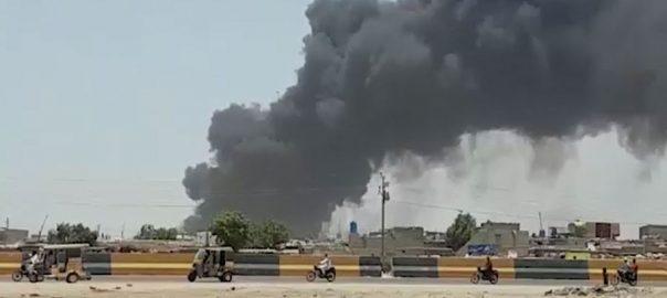 کراچی، مچھر کالونی ، پلاسٹک گودام ، آگ شدت اختیار ، 92 نیوز