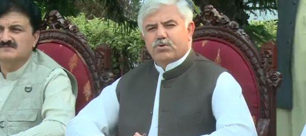 لاک ڈاؤن ، نرمی ، وبا ، محمود خان ، پشاور ، 92 نیوز