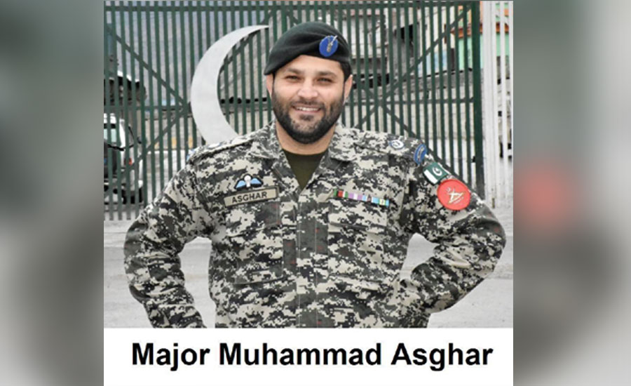 میجر محمد اصغر طورخم بارڈر پر کورونا سے لڑتے شہید ہو گئے