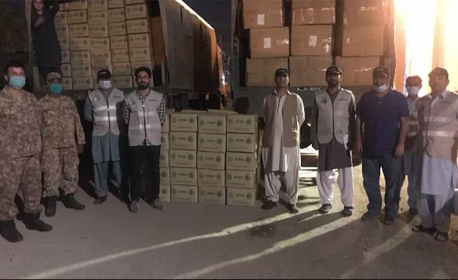 این ڈی ایم اے نے خیبرپختونخوا اور آزاد کشمیر کے اسپتالوں کیلئے مزید سامان روانہ کر دیا