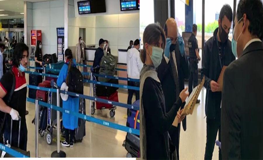 پی آئی اے کی خصوصی پرواز بیرون ممالک پھنسے 250 مسافروں کو لیکر لاہور روانہ