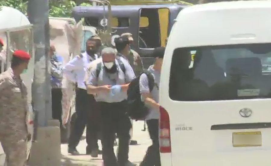 کراچی طیارہ حادثے کی تحقیقات ، فرانسیسی ماہرین کا آج پھر طیارہ حادثے کی جگہ کا دورہ