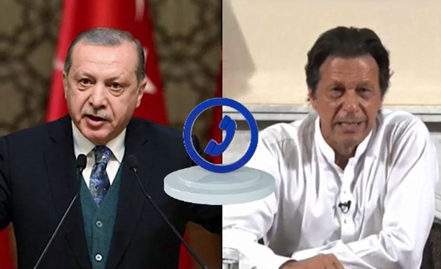وزیراعظم اور ترک صدر میں ٹیلیفونک رابطہ، طیارہ حادثے پر اظہار افسوس