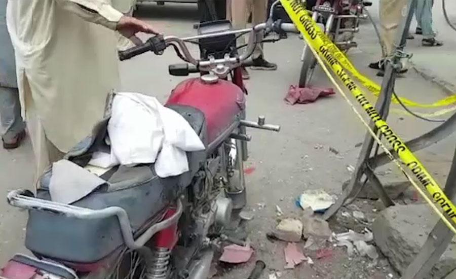 پشاور کے علاقے اشرف روڈ پر بارودی مواد کا دھماکا، 2 پولیس اہلکار زخمی