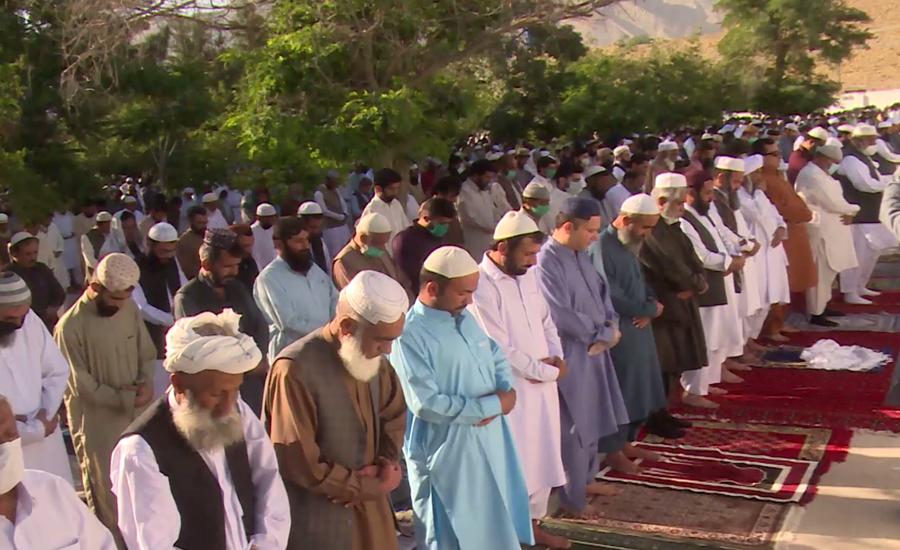 کوئٹہ میں عید الفطر کیلئے 300 سے زائد مقامات پر نماز عید کا اہتمام کیا گیا