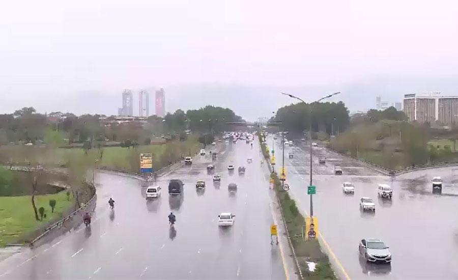 پنجاب، خیبرپختونخوا اور آزادکشمیر میں بارش سے موسم خوشگوار ہوگیا