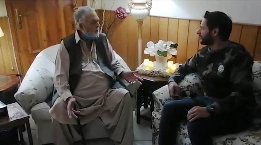 شاہد آفریدی رمضان المبارک میں خیراتی کاموں میں مصروف