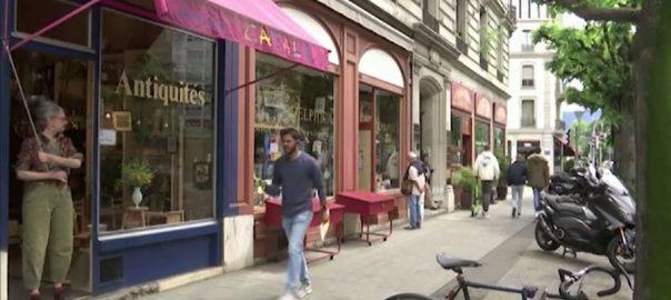 سوئٹزر لینڈ ، لاک ڈاؤن ، دکانیں ، ریستوران ، دوبارہ کھل گئے ، برن ، 92 نیوز