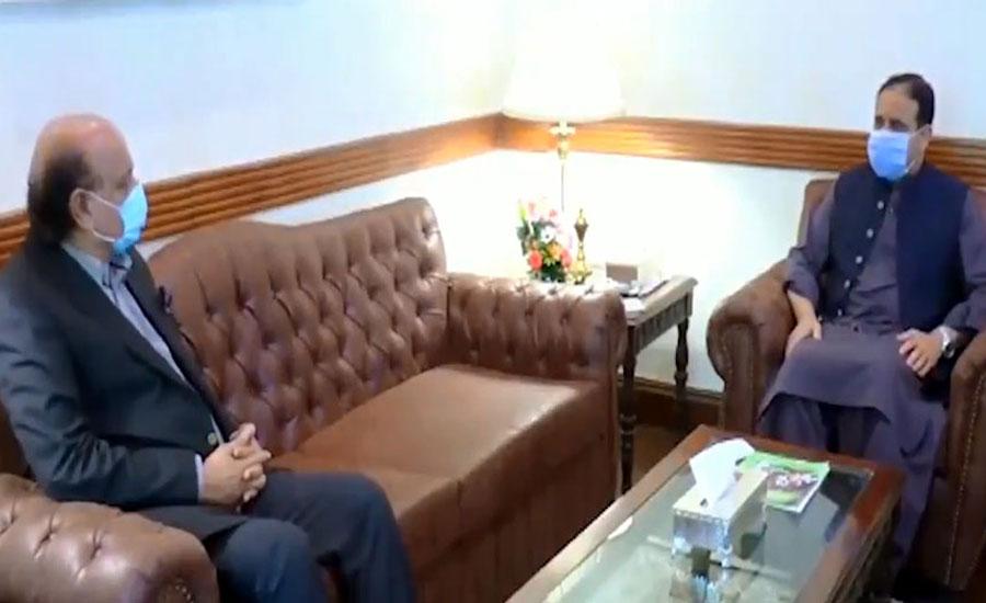 وزیراعلیٰ پنجاب سے بشارت راجہ کی ملاقات ، پنجاب اسمبلی کے بجٹ سیشن کے حوالے سے تبادلہ خیال