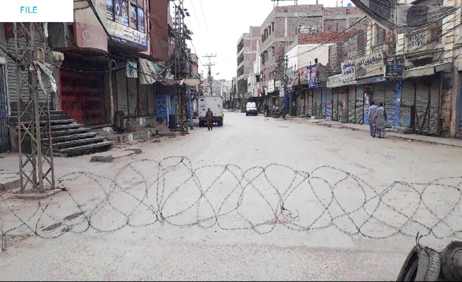 کراچی کے اضلاع میں اسمارٹ لاک ڈاؤن نافذ، کورونا کے 859 نئے کیسز رپورٹ