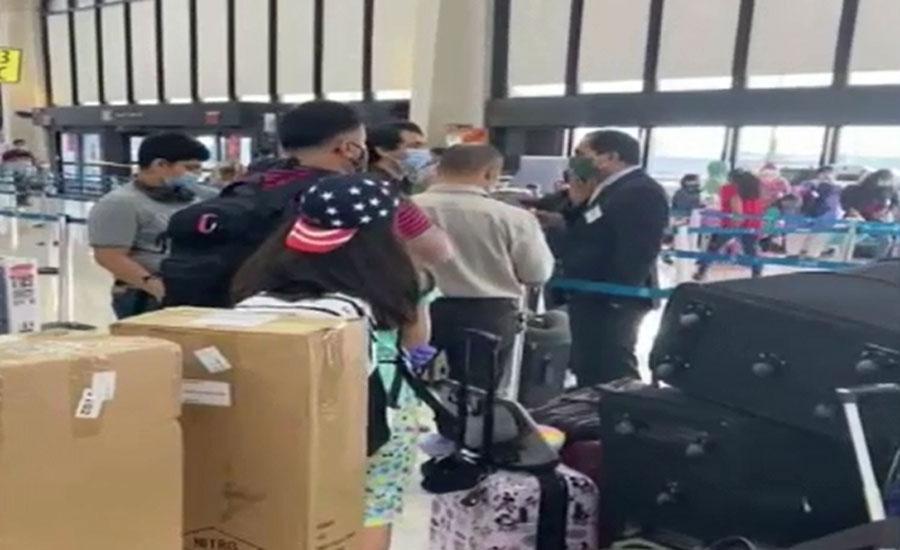 قومی ایئرلائن کی خصوصی پرواز نیوجرسی سے پاکستانیوں کو لیکر لاہور روانہ