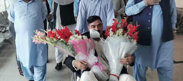 وفاقی وزیر ریلوے ، شیخ رشید احمد ، کورونا ، صحت یاب ، اسپتال ، ڈسچارج