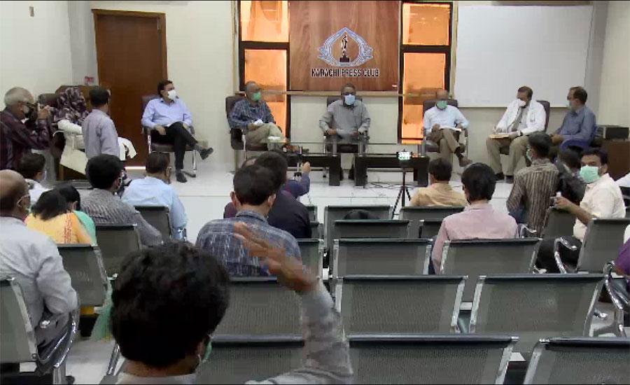 کراچی کے ڈاکٹرز کا کورونا کے مریضوں کیلئے مزید اسپتال فوری بنانے کا مطالبہ
