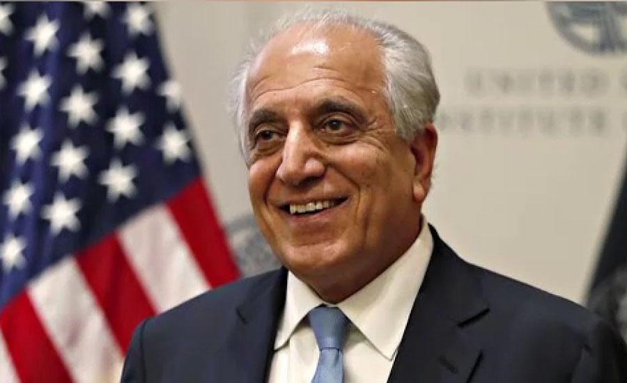 امریکی نمائندہ خصوصی زلمے خلیل زاد قطر پہنچ گئے