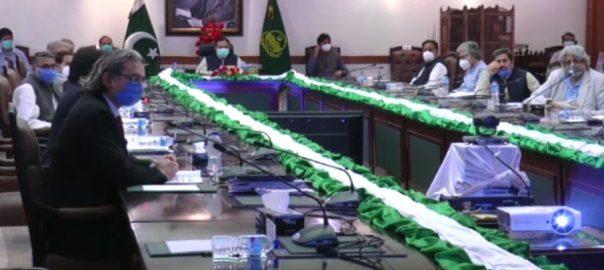 ریسورس موبلائزیشن کمیٹی ، اجلاس ، سینئر وزیر ، عبدالعلیم خان ، سربراہی ، کمیٹی تشکیل