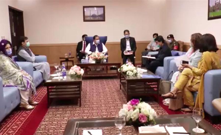 وزیراعلیٰ بزدار سے ارکان اسمبلی کی ملاقات، عوامی امور اور مسائل سے آگاہ کیا