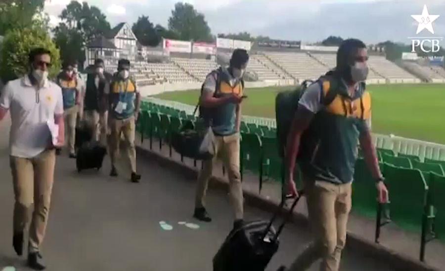قومی کرکٹ ٹیم کے کھلاڑیوں اور آفیشلز نے برمنگھم میں 14روز کیلئے قرنطینہ کرلیا