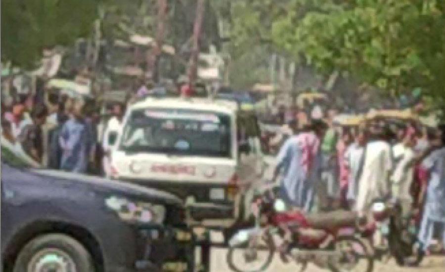 گھوٹکی میں ریلوے اسٹیشن کے قریب دھماکا ، 2 رینجرز اہلکاروں سمیت تین افراد جاں بحق