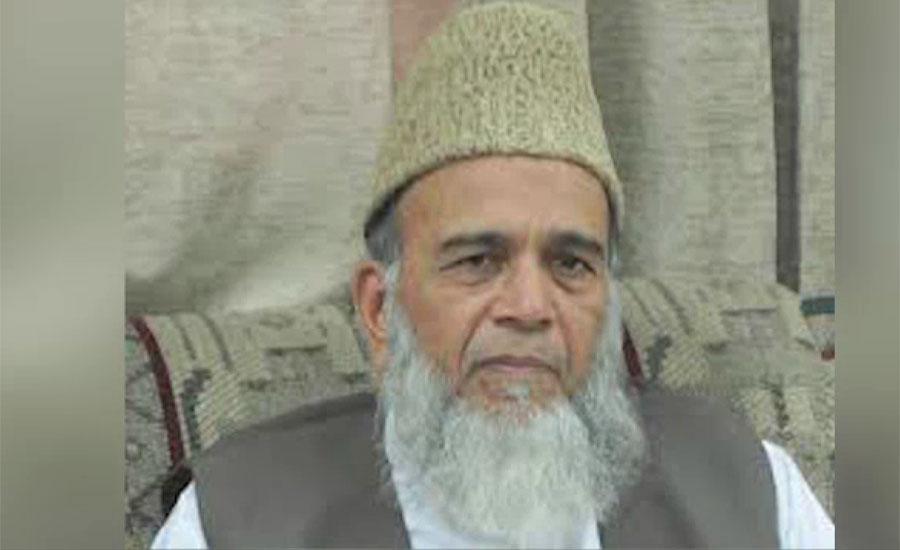سابق امیر جماعت اسلامی سید منور حسن کراچی میں انتقال کر گئے