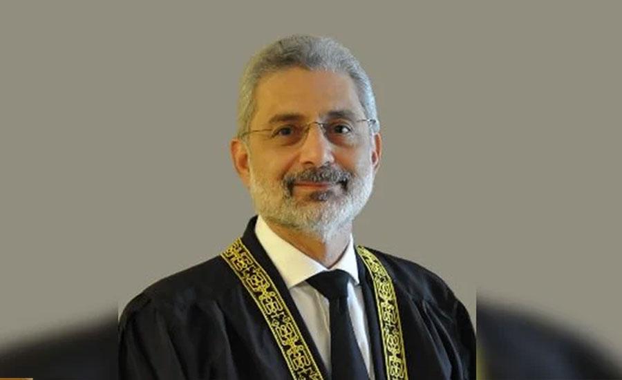 جسٹس قاضی فائز عیسیٰ دھمکی کیس ، پولیس نے آغا افتخار الدین مرزا کو حراست میں لے لیا
