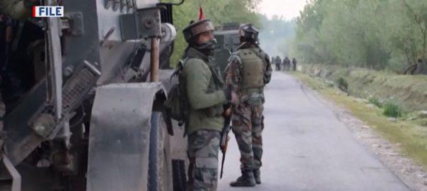 مقبوضہ کشمیر ، بھارت ، ریاستی دہشتگردی ، 3 کشمیری نوجوانوں شہید ، سری نگر ، 92 نیوز