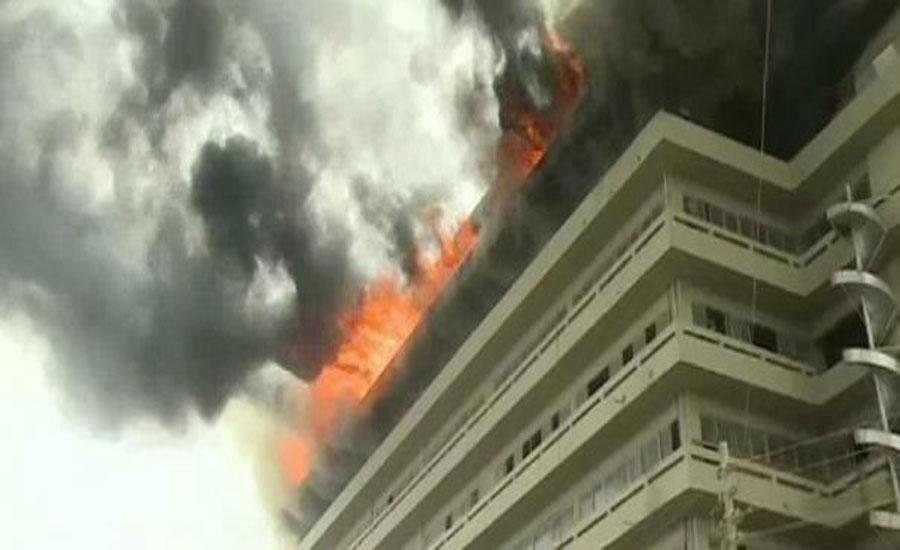 کراچی کے علاقے سائٹ ایریا ٹیکسٹائل مل میں لگنے والی آگ پر قابو پا لیا گیا