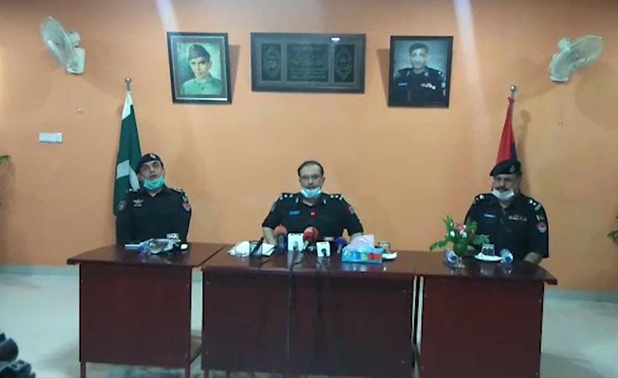 پشاور میں دہشت گردی کا منصوبہ ناکام، 8 دہشتگرد گرفتار، اسلحہ برآمد