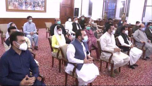 وزیراعظم ، کراچی ، اتحادی جماعتوں ، وفد ، ملاقات ، سندھ ، ترقیاتی کاموں ، انتظامی اصلاحات ، تجاویز