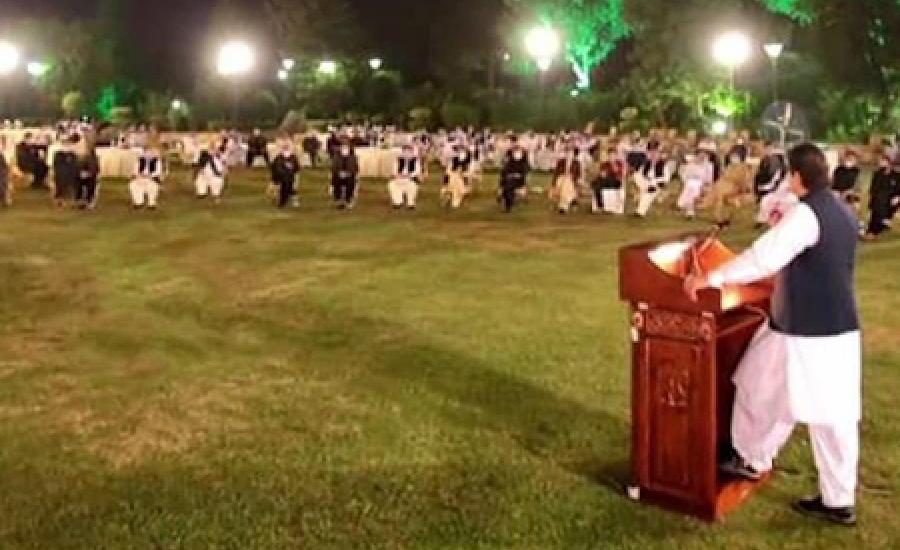وزیر اعظم کا اتحادیوں کے اعزاز میں  عشائیہ ، بی این پی اور ق لیگ کی عدم شرکت