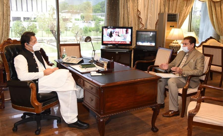وزیر اعظم سے ارکان قومی اسمبلی کی ملاقاتیں ، اہم سیاسی امور پر مشاورت