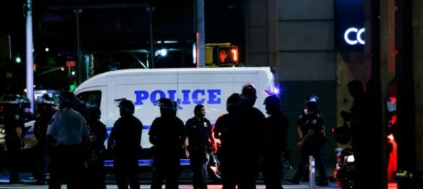 جارج فلائیڈ ، ہلاکت ، امریکیوں ، احتجاج ، بارہویں روز ، جاری