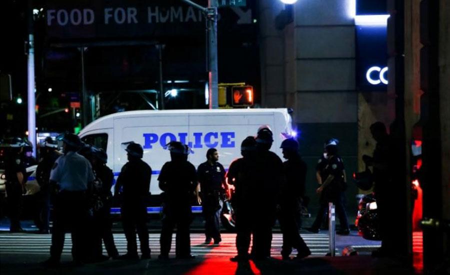 امریکا میں پولیس کے ہاتھوں سیاہ فام شہری کی موت کیخلاف آٹھویں روز بھی شدید ہنگامے