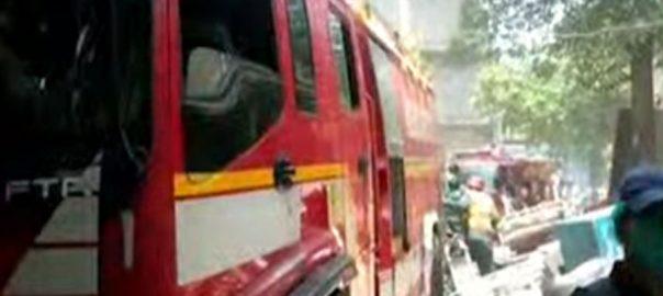 سروسز اسپتال لاہور ، شارٹ سرکٹ ، آگ بھڑک اُٹھی ، 92 نیوز