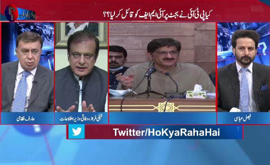 مراد علی شاہ نے فیصلوں سے اتفاق کیا پھر مؤقف بدل لیا ، شبلی فراز