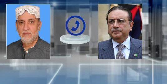 حکومتی اتحاد ، علیحدگی ، اعلان ، آصف علی زرداری ، سردار اختر مینگل ، رابطہ